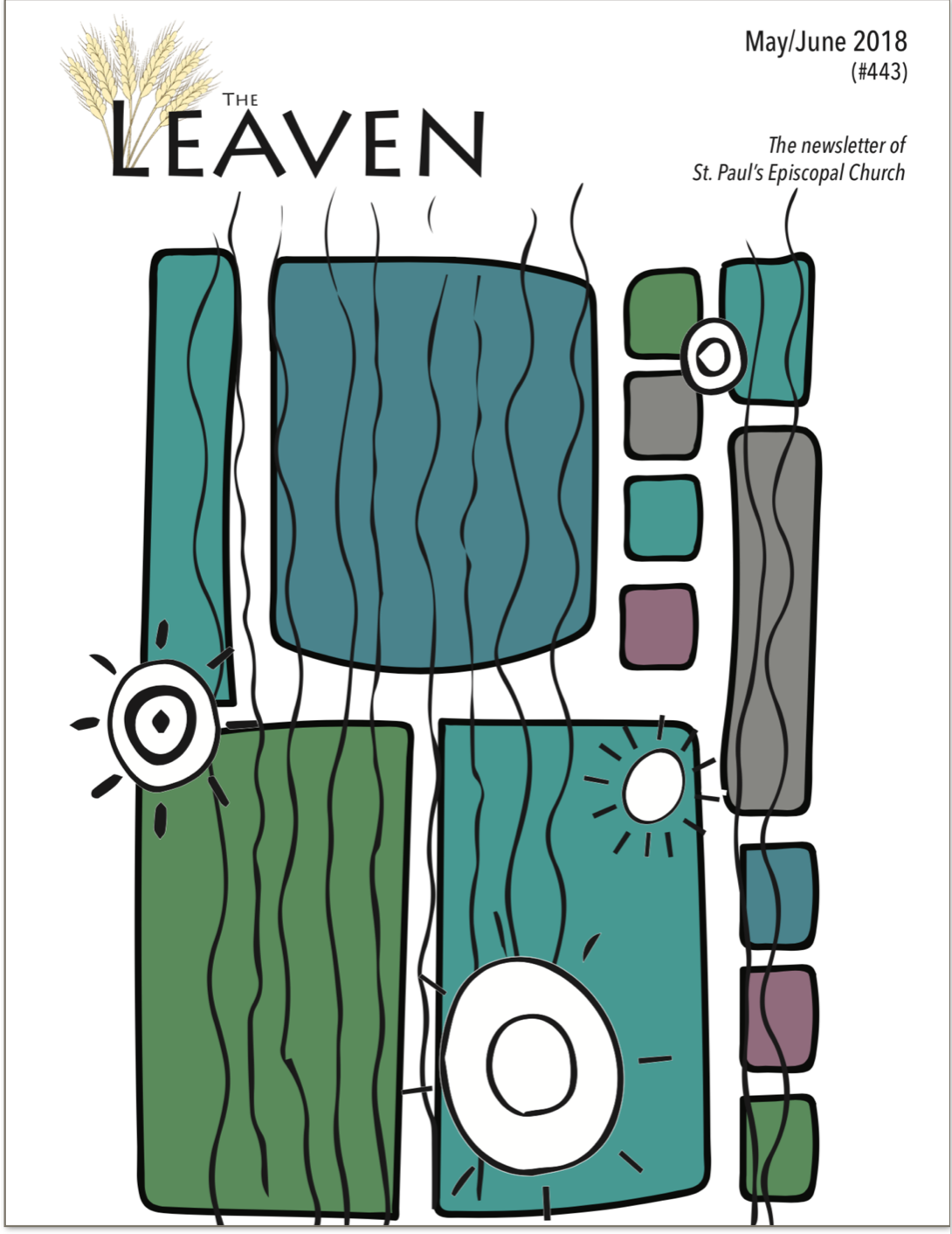Leaven cover May-June 18