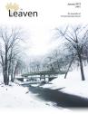 cover Leaven Sept 2018